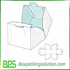stackable candy packaging box design template