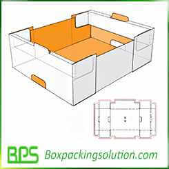 stackable fruit tray veg tray design template