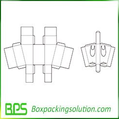 supermarket packaging box templates