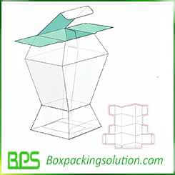 unique packaging box die cut design