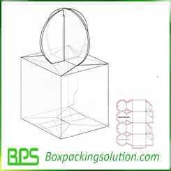 unique packaging boxes design template