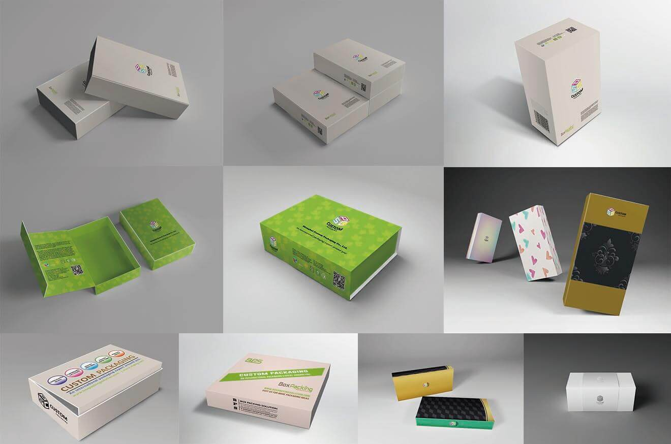 Custom Magnetic Boxes with Unlimited Printing Finish