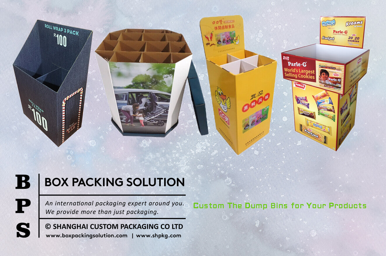 Custom The Dump Bins for Your Products