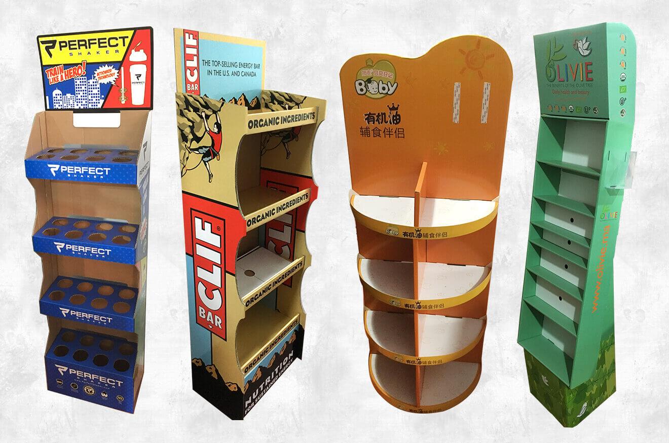 Make Your Custom Cardboard Floor Stands More Impressive