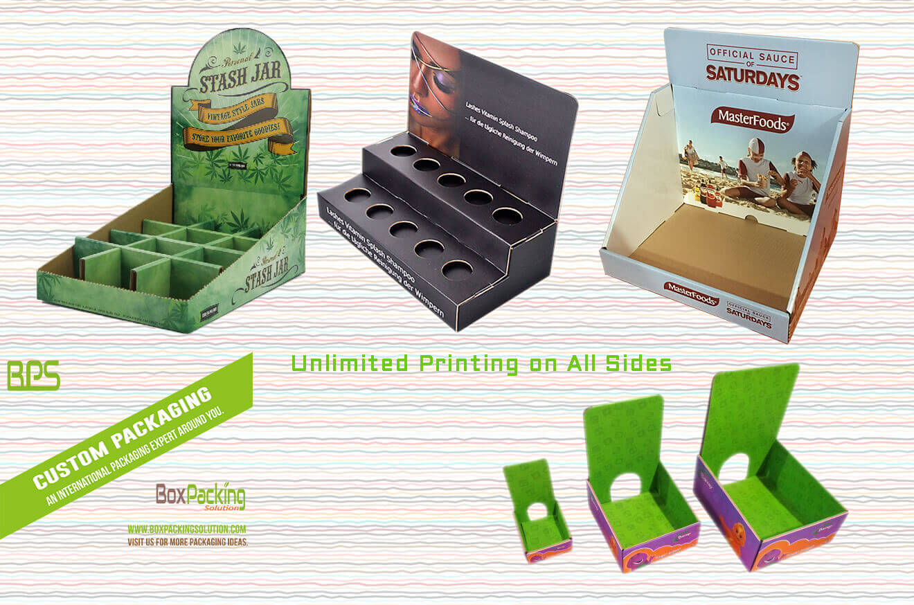 Unlimited Printing on Custom Counter Displays