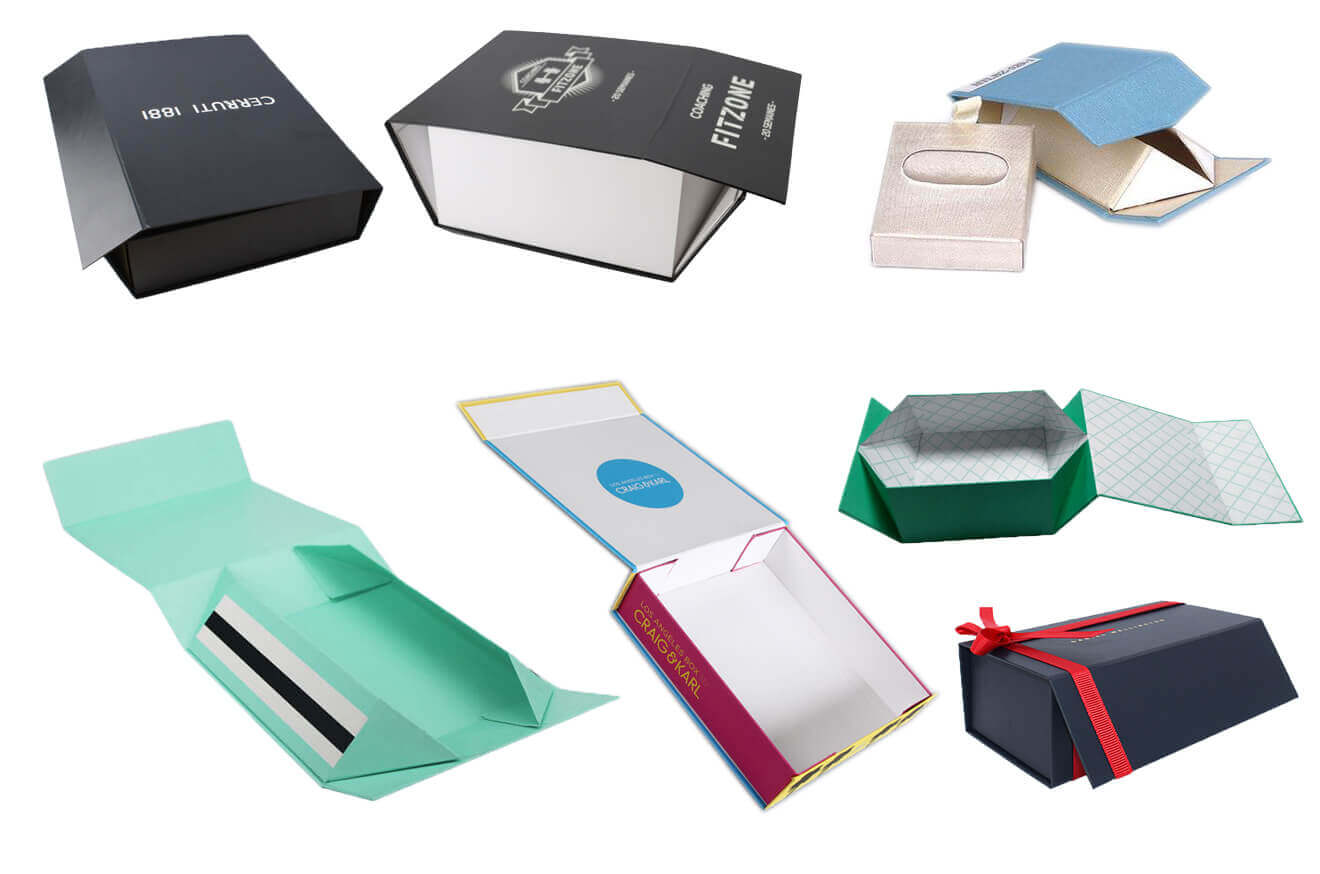 Various Collapsible Rigid Boxes Foldable Boxes