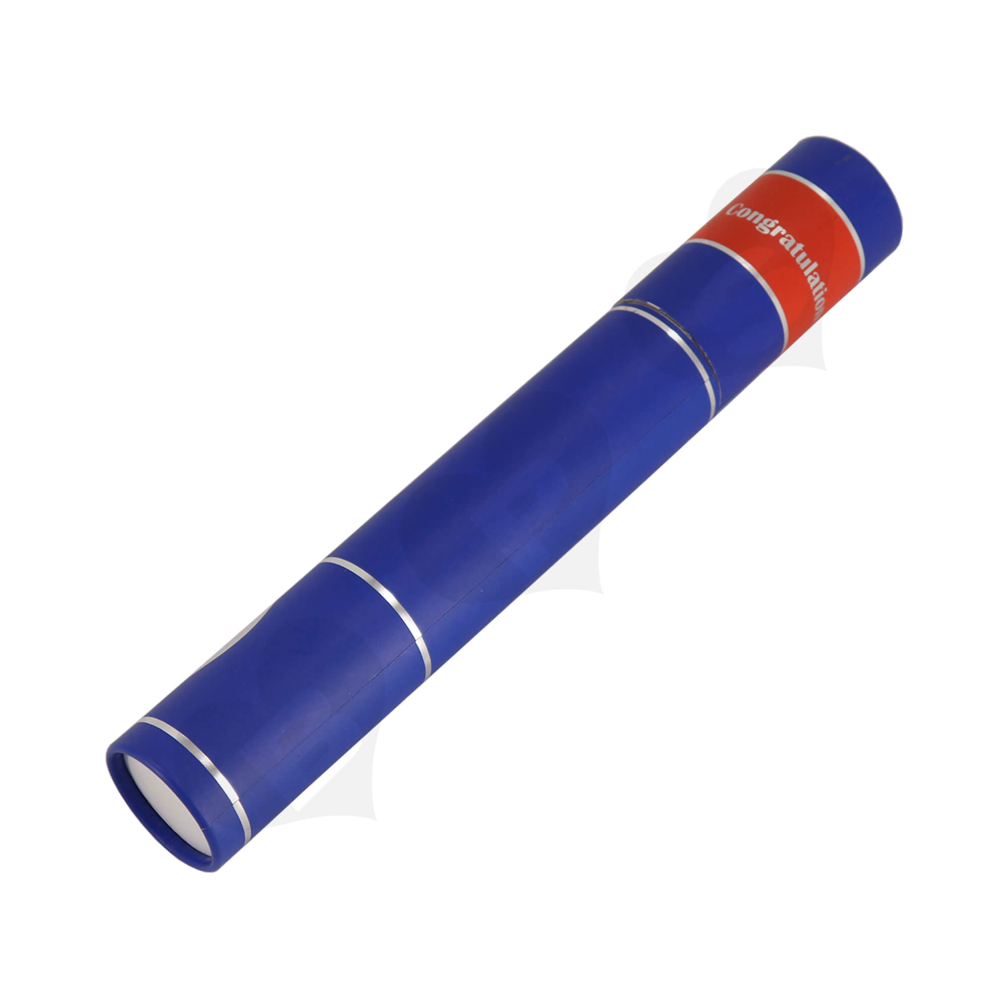 Big Size Cardboard Tube For Packing University Congratulations Gifts Side View One