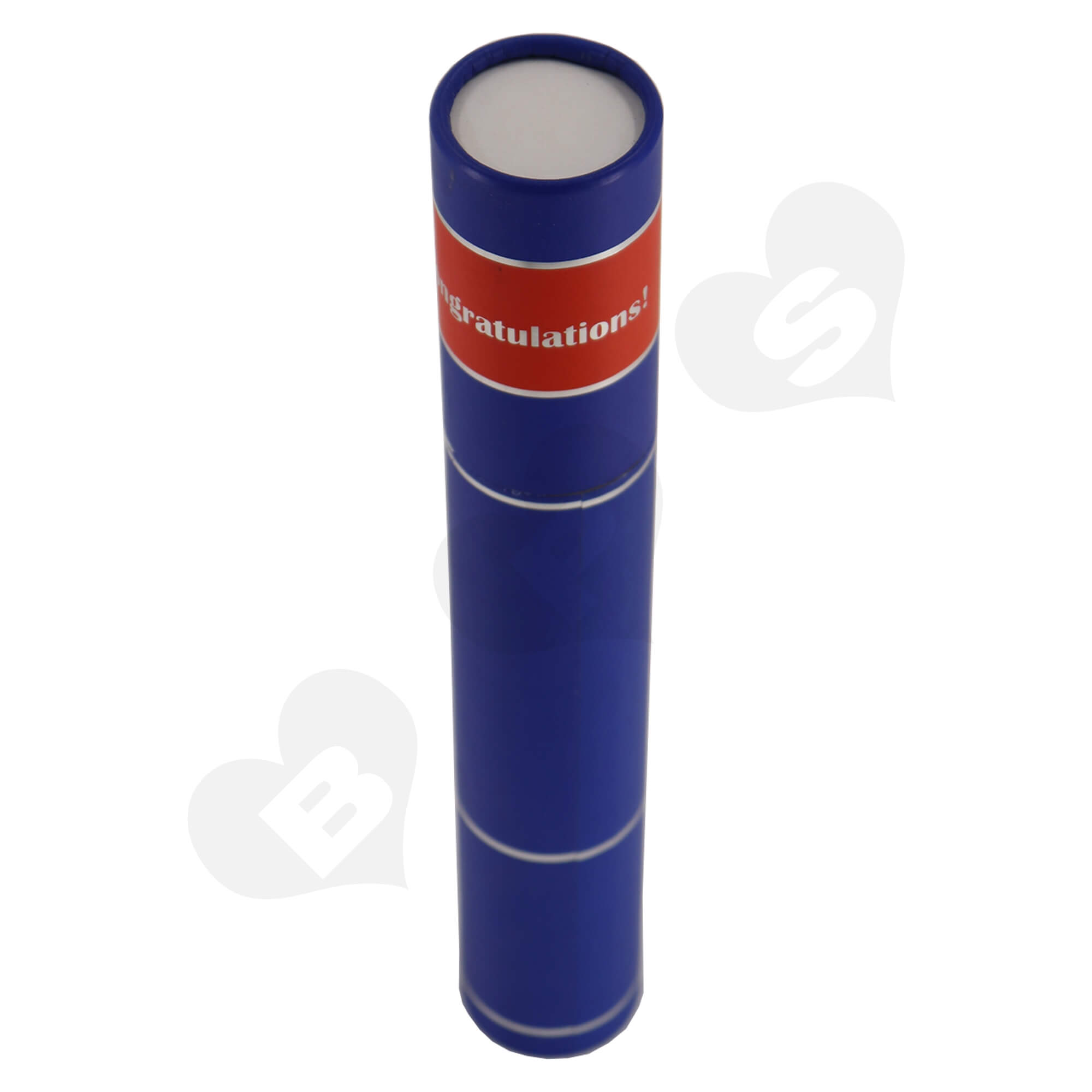 Big Size Cardboard Tube For Packing University Congratulations Gifts Side View Three