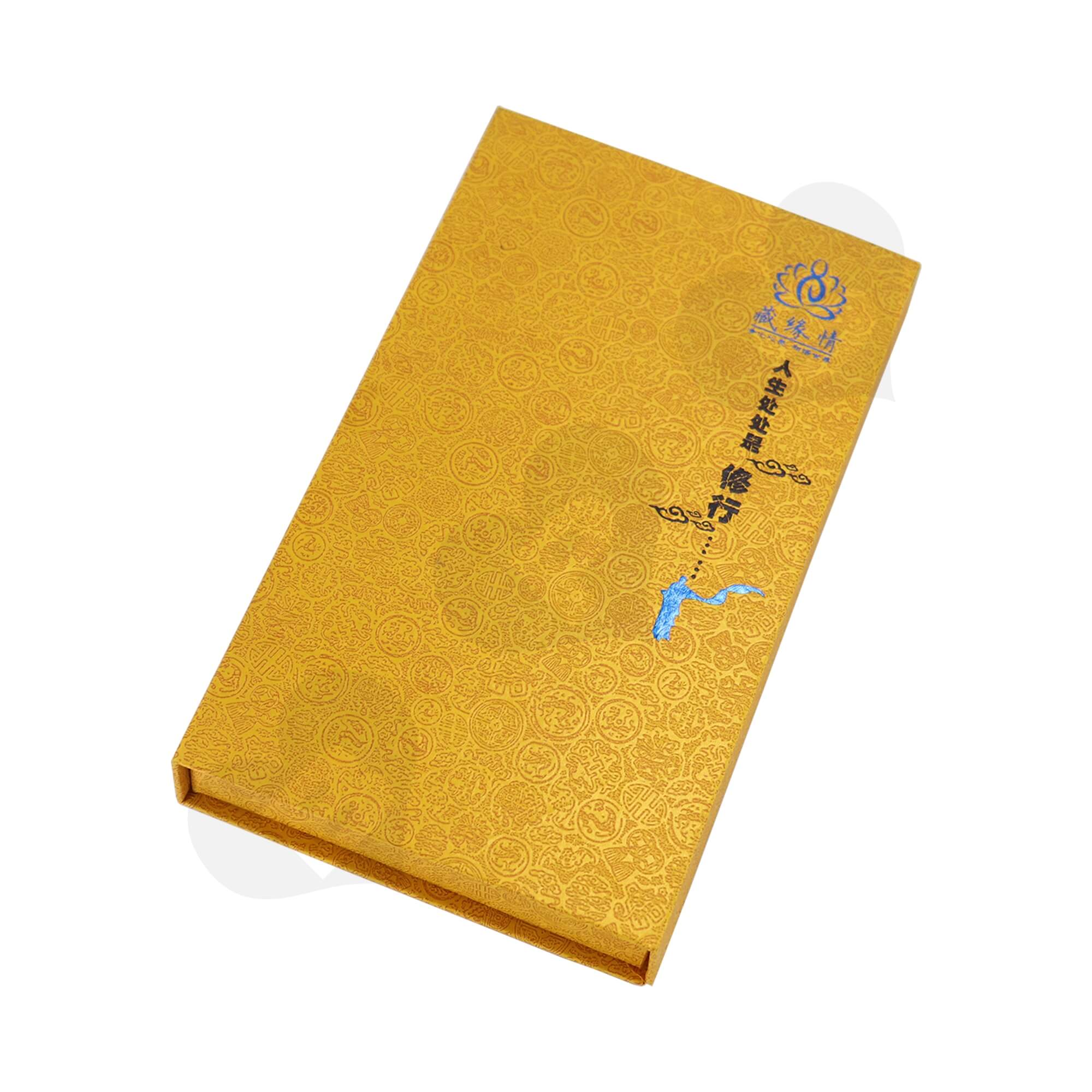 Book Shape Gift Box For Packing Blended Fragrance Side View Three