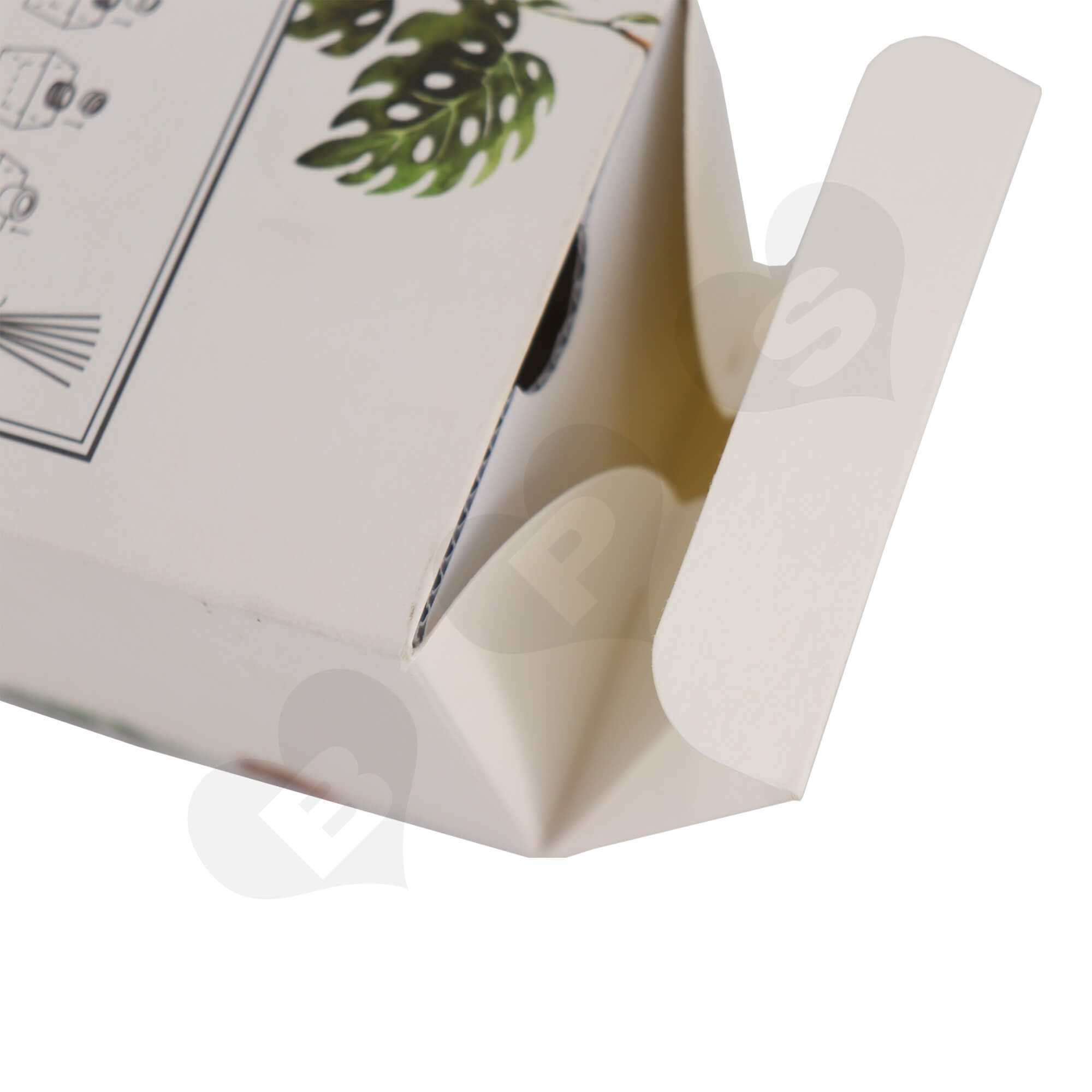 Cardboard Folding Carton For Packing Scent Diffuser With Testing Valve Side View Six