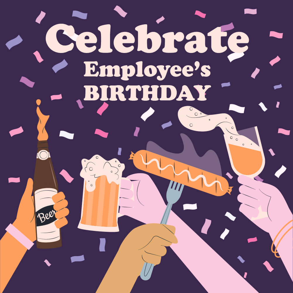 Celebrate Employee Birthday