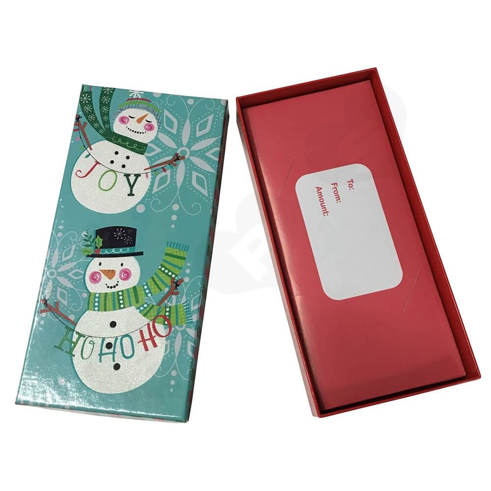 Cheap Christmas Gift Box Side View One