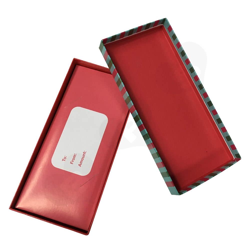 Cheap Christmas Gift Box Side View Three
