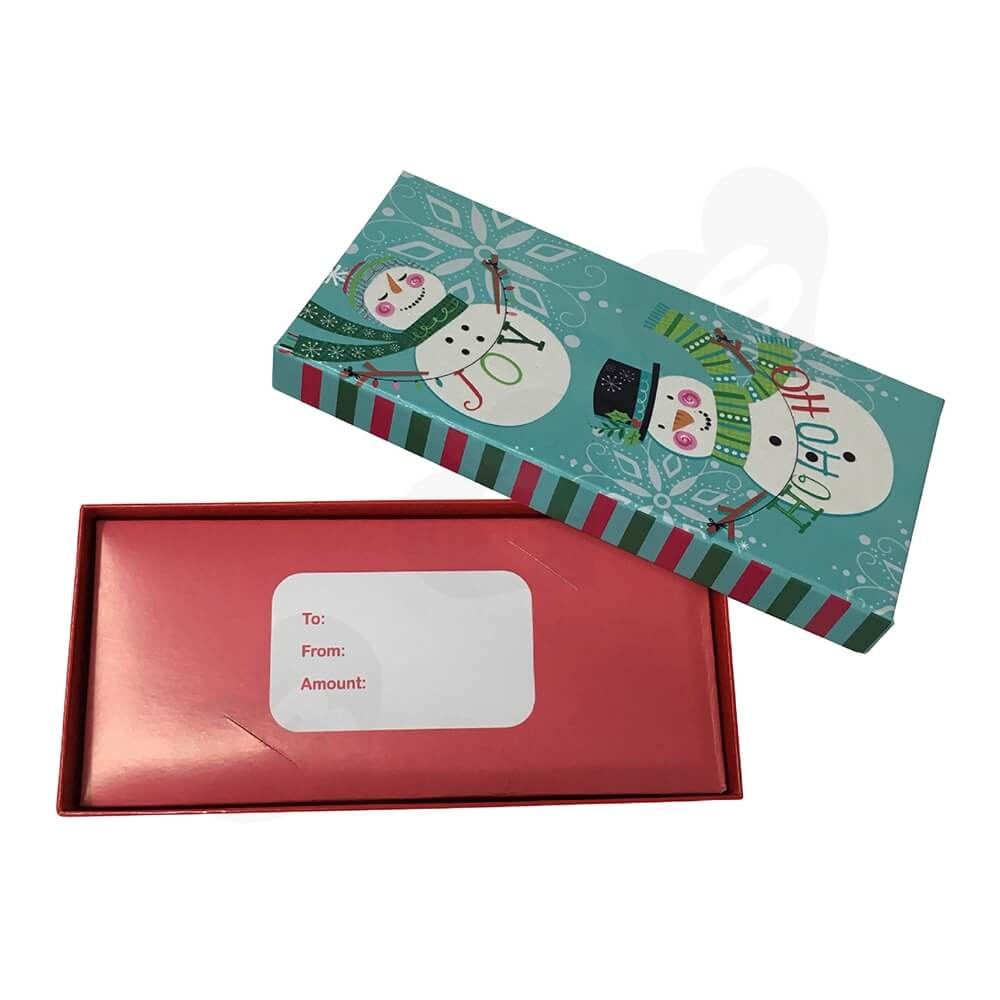 Cheap Christmas Gift Box Side View Two