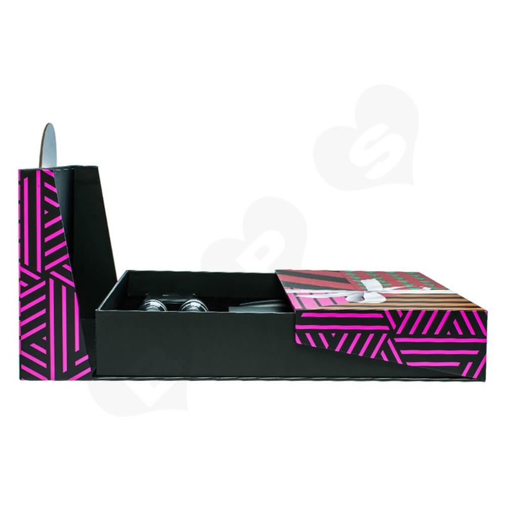Custom Branded Nail Polish Packaging Box Christmas Color Side View Five