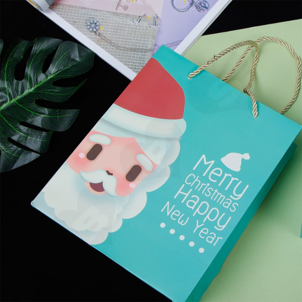 Custom Printed Folding Carton For Christmas Gift Side View Five