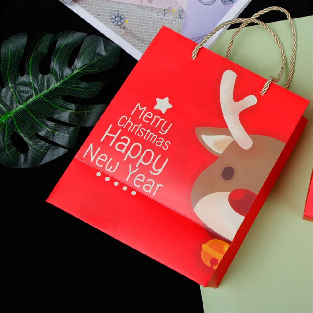 Custom Printed Folding Carton For Christmas Gift Side View Three