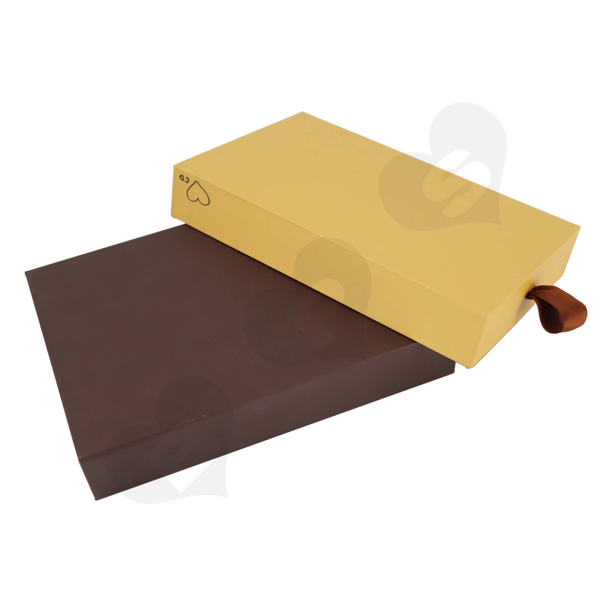 Customizable Cardboard Drawer Box For Packing Dessert Side View Six
