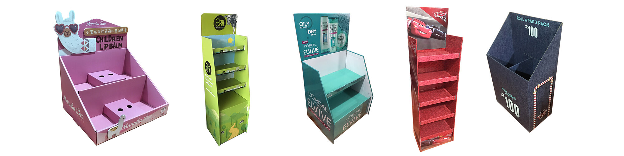 Single Product- Customizable Cardboard Display Boxes