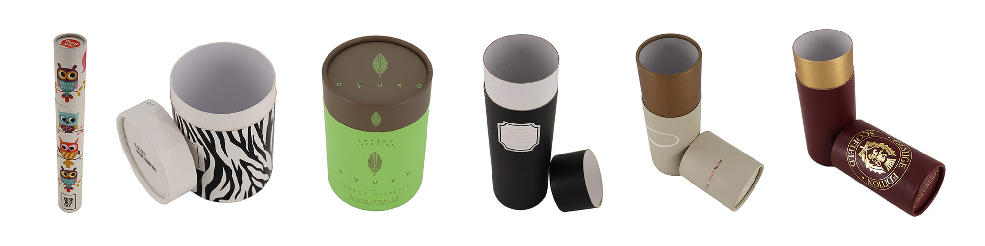 Single Product- Customizable Cardboard Tubes Cylinders