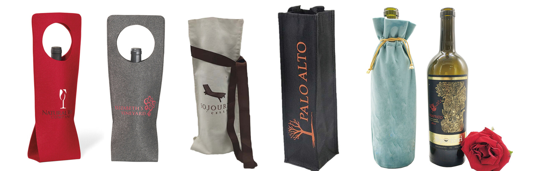 Cloth Bag For Wine Packaging