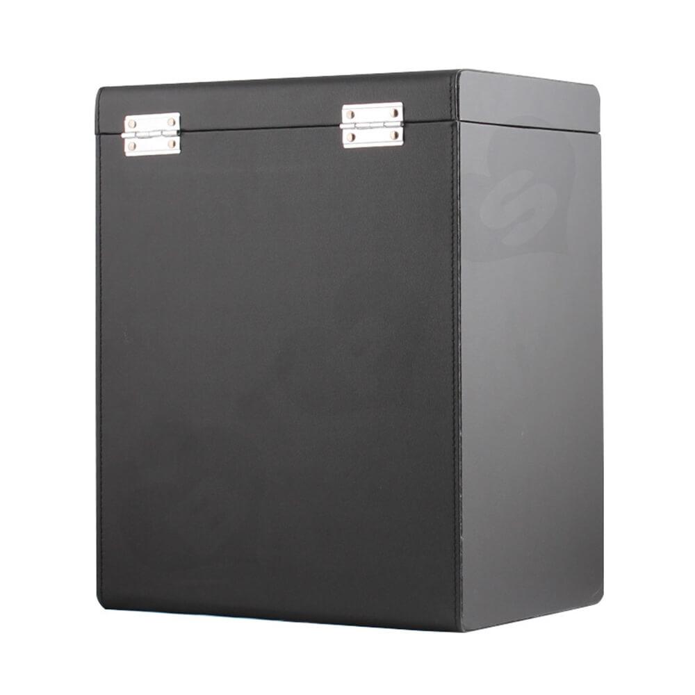 Custom Cardboard Insulated Wine Box Suitcase Side View Six
