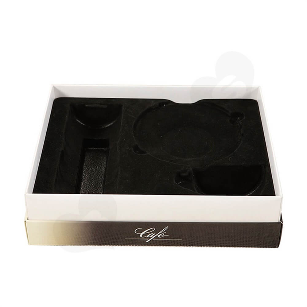Custom Gift Box For Coffee Kit Side View Four