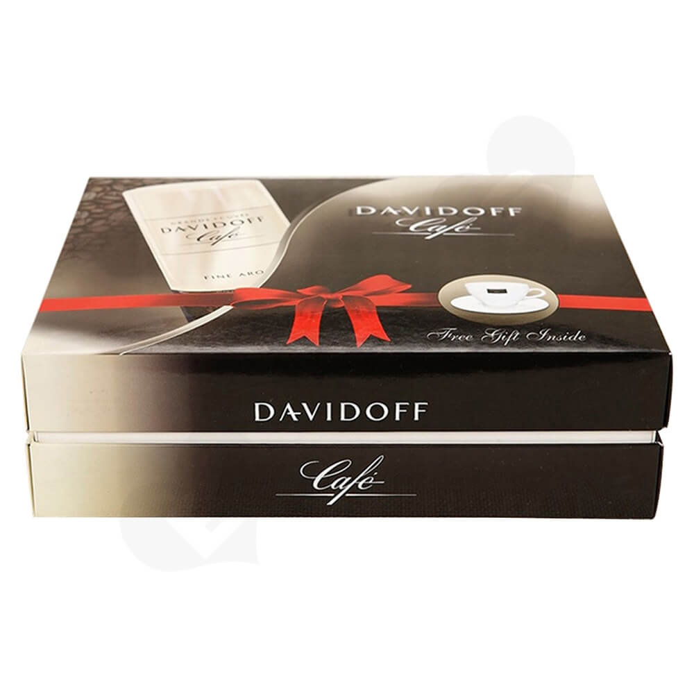 Custom Gift Box For Coffee Kit Side View One