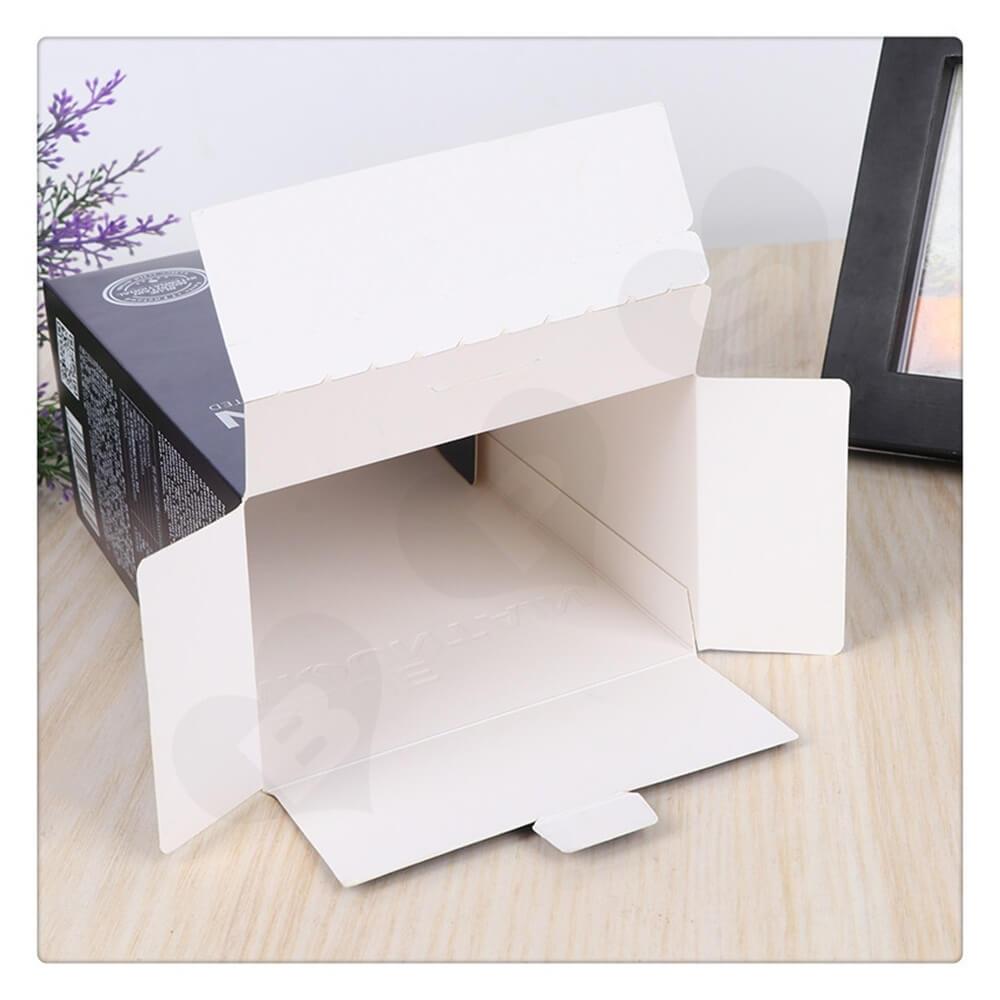 Custom Matte Printed Folding Carton For Coffee Powder Side View Six