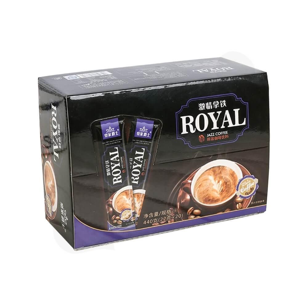 Custom Printed Retail Box For Coffee Powder Side View One
