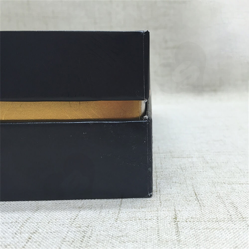 Custom Rigid Neck Gift Box For Coffee Powder Side View Four