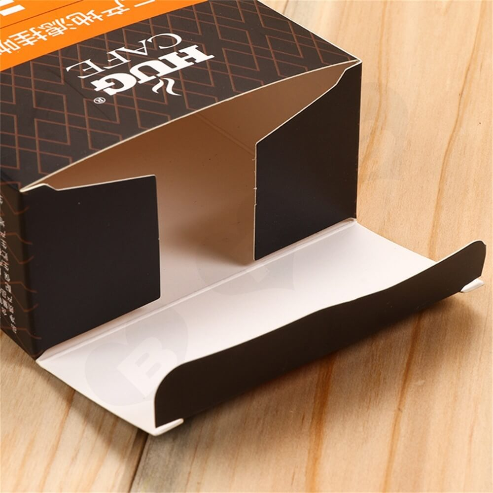 Personalized Folding Carton For Coffee Powder Side View Six