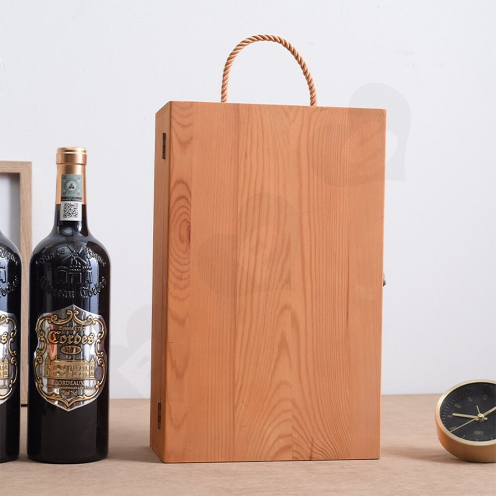 Printable Solid Wine Suitcase Side View Four