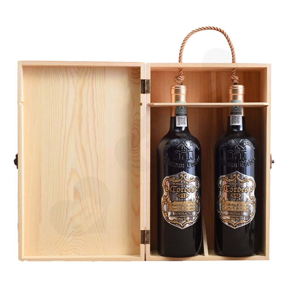 Printable Solid Wine Suitcase Side View One