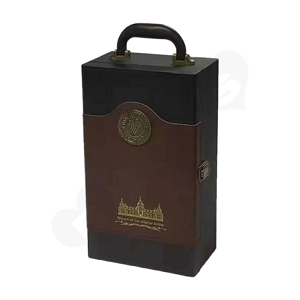 Private Label Wine Box Kit Side View Two