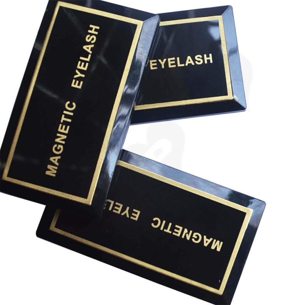 Branded Acrylic Gift Box For Eyelash Side View One