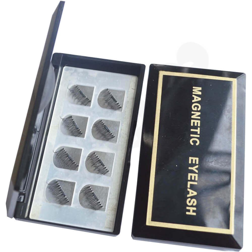Branded Acrylic Gift Box For Eyelash Side View Three