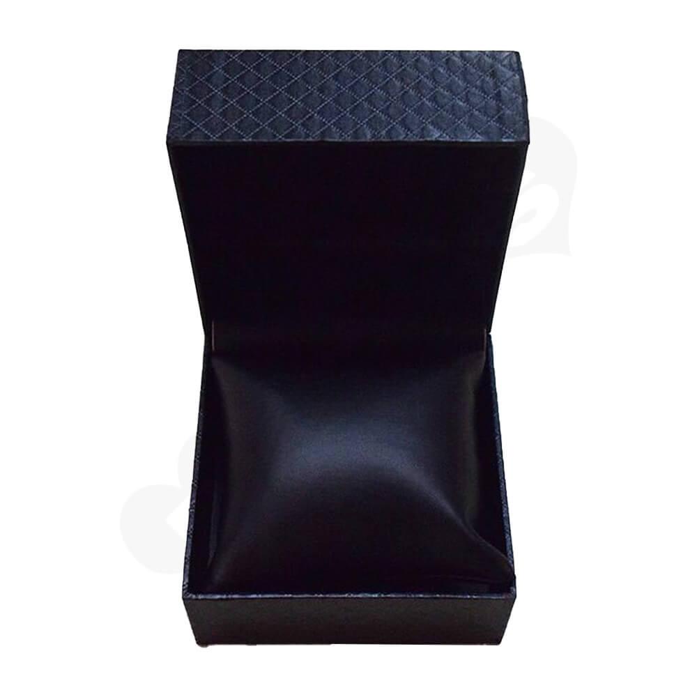 Cardboard Box Diamond Pattern For Watch Side View Five