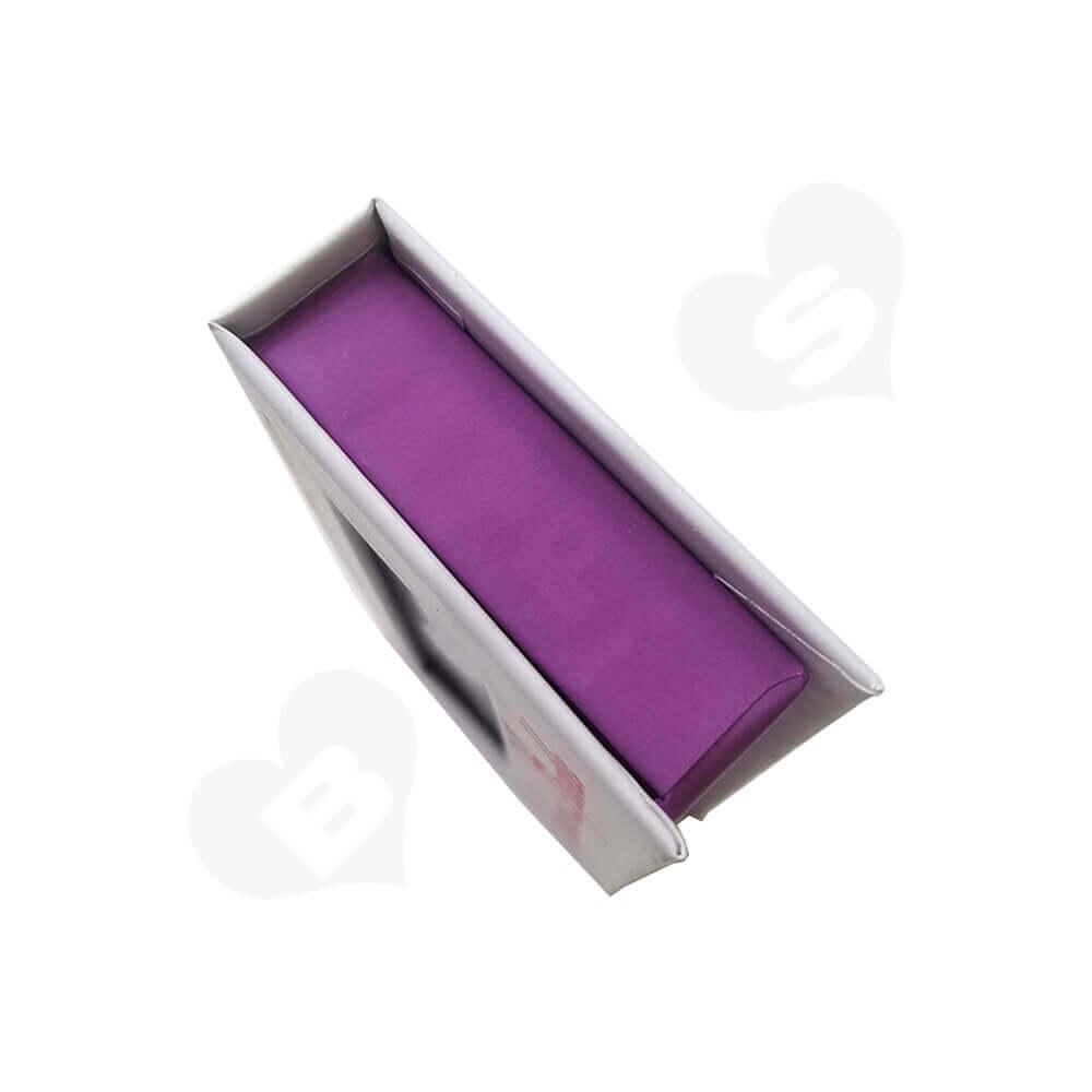 Custom Box Book Shape For Eyelashes Side View Three