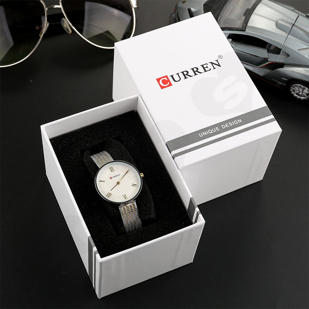 Custom Box With Lift Off Lid For Watch Side View Four