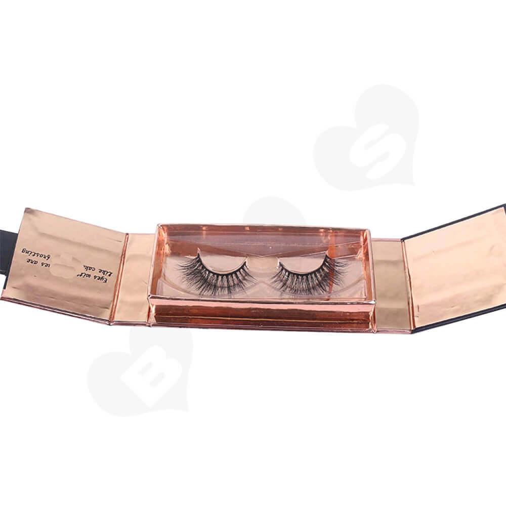 Custom Branded Eyelash Retail Sales Box Side View Three