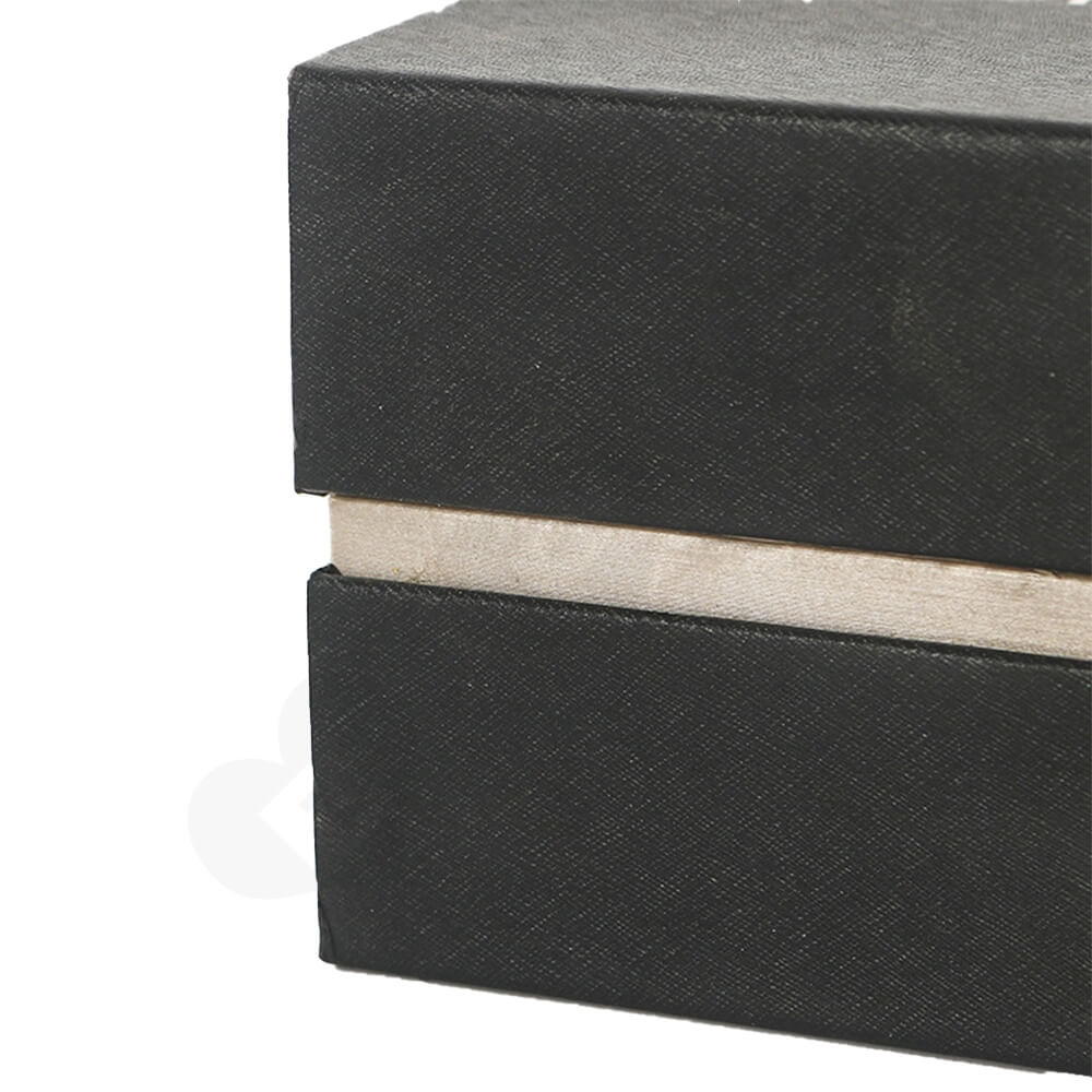 Custom Branded Luxury Cardboard Box For Watch Side View Five