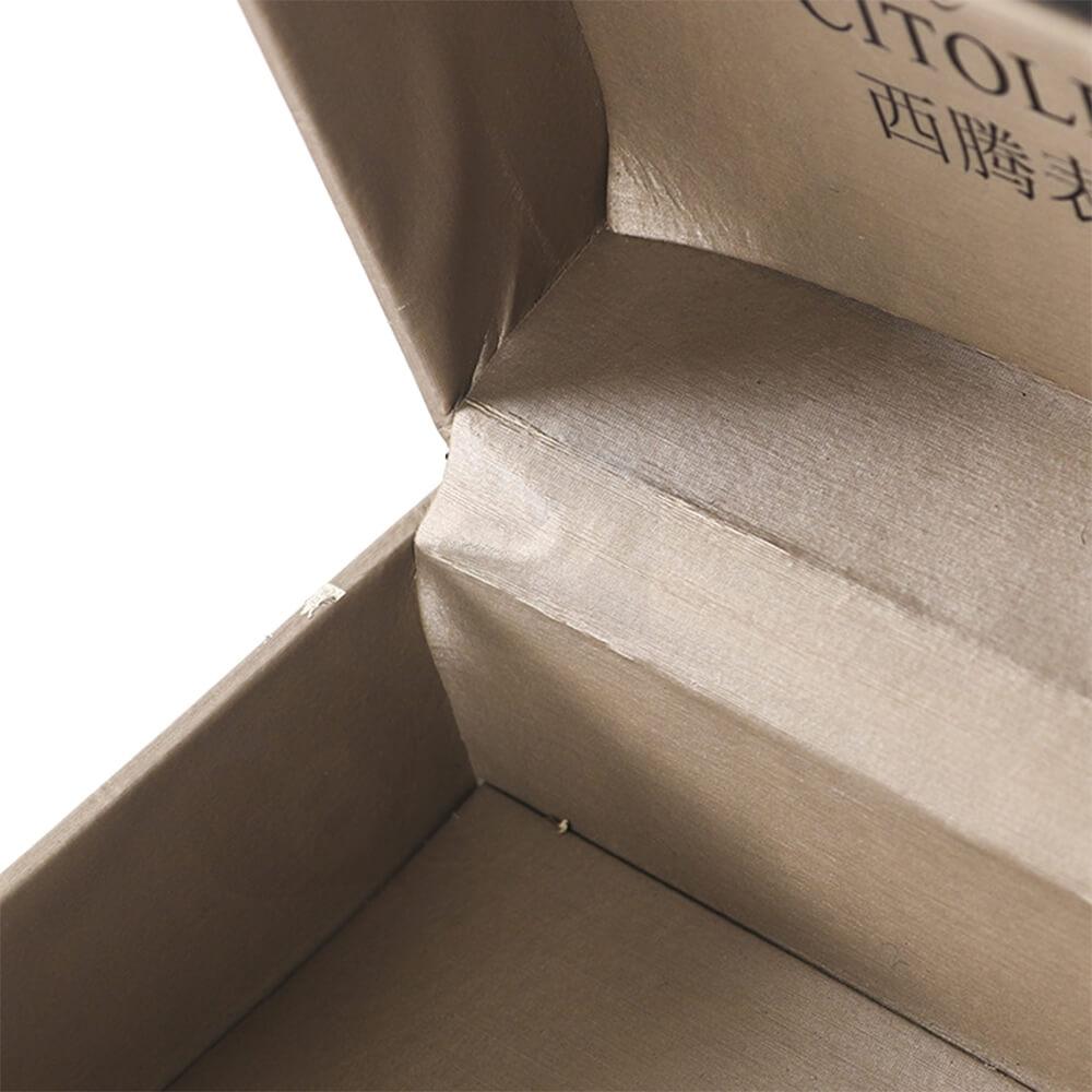 Custom Branded Luxury Cardboard Box For Watch Side View Four