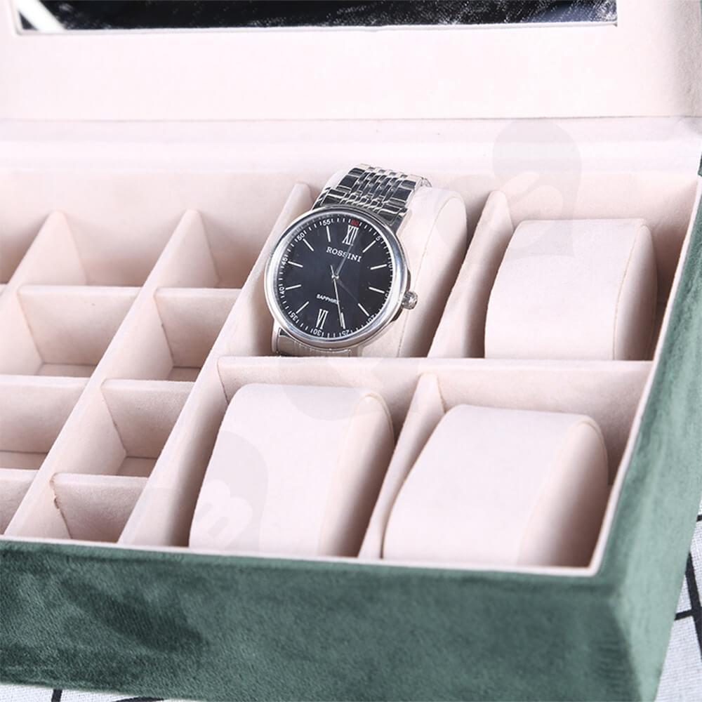 Custom Branded Watch Storage Organizer Box Side View Four