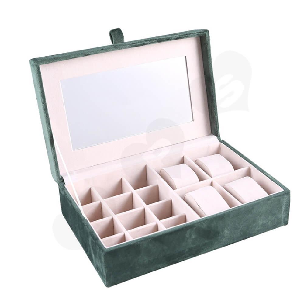 Custom Branded Watch Storage Organizer Box Side View One