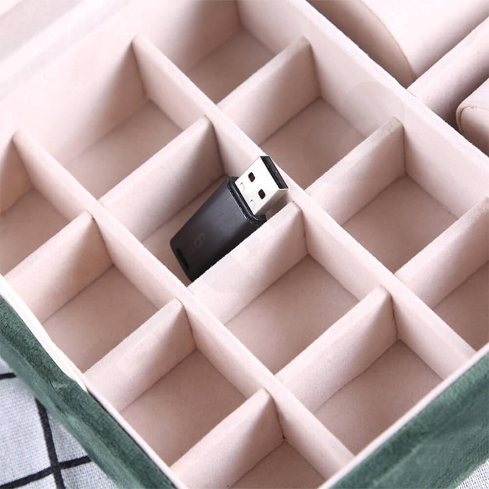 Custom Branded Watch Storage Organizer Box Side View Two