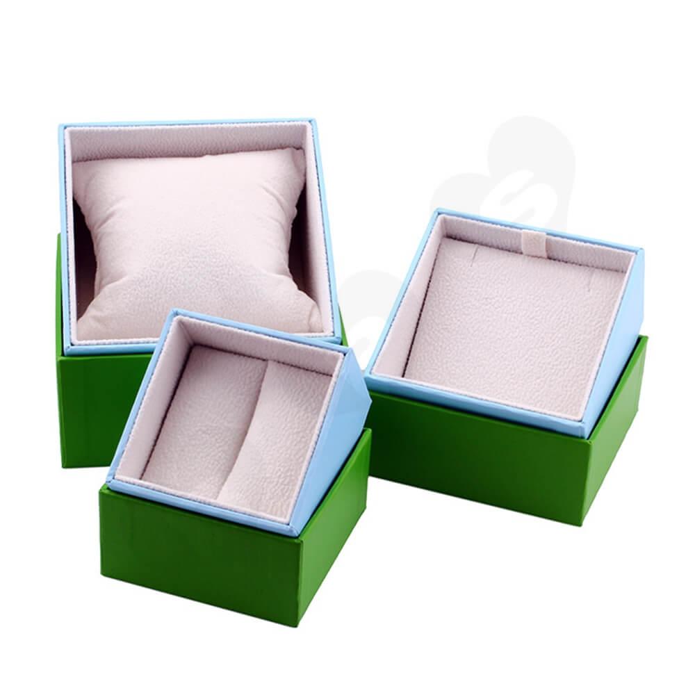 Custom Cardboard Children Watch Box Side View Four