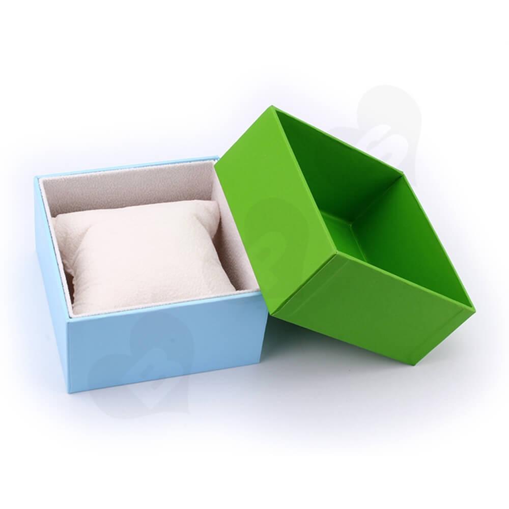 Custom Cardboard Children Watch Box Side View Three