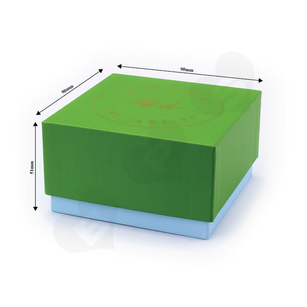Custom Cardboard Children Watch Box Side View Two