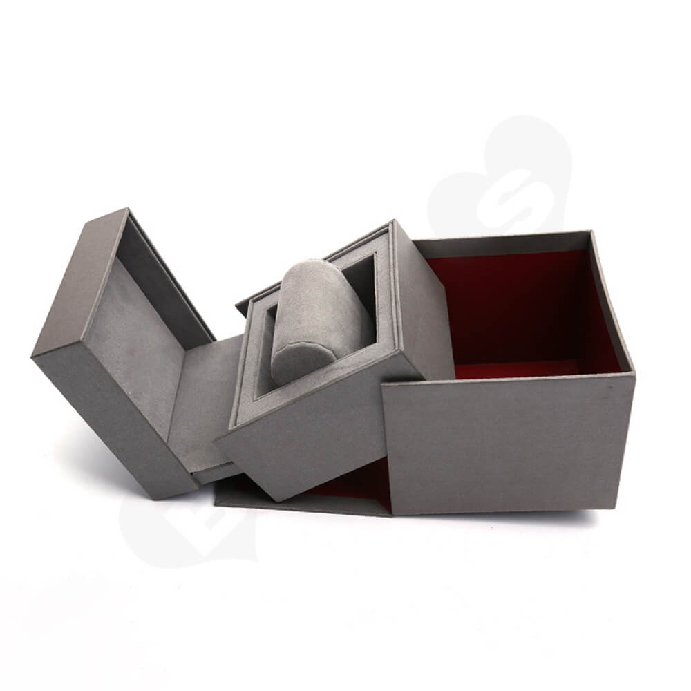 Custom Collapsible Watch Box Unit Side View Four